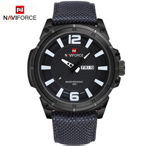 Relógio Naviforce 9066 Esportivo Masculino Militar + Brinde