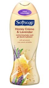 Sabonete Líquido Softsoap Honey Creme & Lavender 532ml