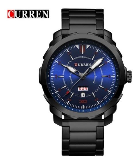 Relógio Masculino Curren 8266 De Pulso Original Promoção