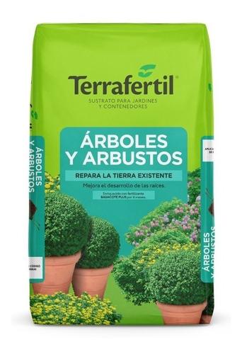 Sustrato Árboles Y Arbustos Terrafertil 50lts
