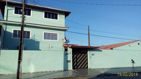 Casa Em Mongaguá Com Fogão A Lenha, Churrasqueira Ref 7263 E