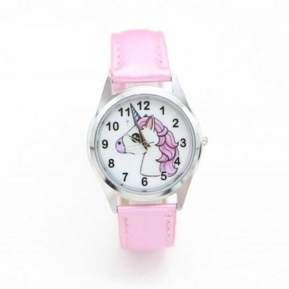 Relógio Infantil Para Menina Modelo Unicórnio Promoção
