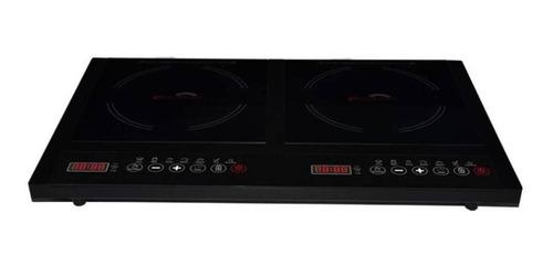Parrilla eléctrica Ecocinare Cook-02 negro 110V