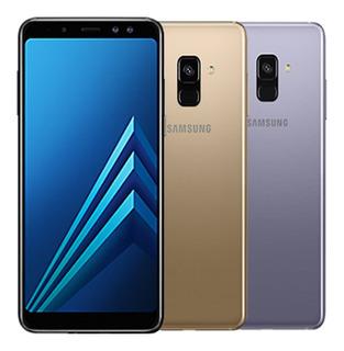 Celular Libre Samsung A8 (2018) 64gb - Huella- Garantia 1a