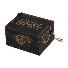 Caixa Caixinha De Musica Game Of Thrones Manivela- Lindas