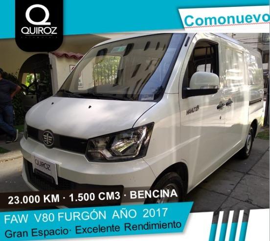 Faw V80 1.5 Furgón Año 2017