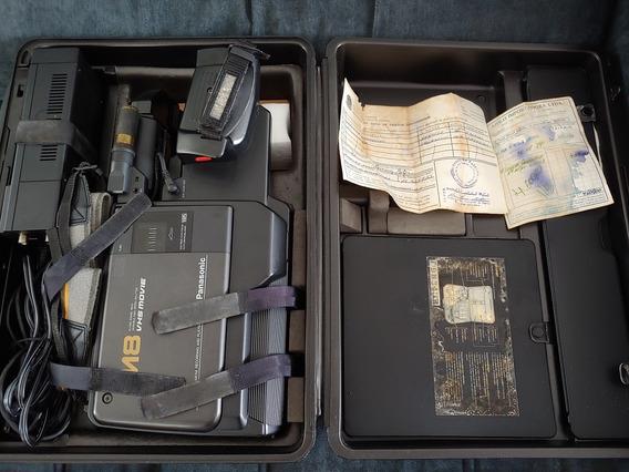 Camera Filmadora Panasonic M8 Vw-shm7 Pouquíssimo Uso