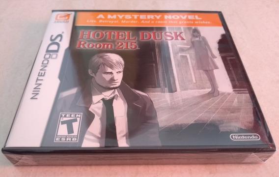 Hotel Dusk Room 215 Americano Original E Lacrado Nintendo Ds