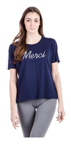 Remera Merci Azul Mujer Le Coq Sportif