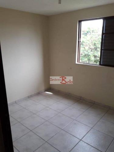 Apartamento Com 2 Dormitórios À Venda, 50 M² Por R$ 100.000 - Núcleo Residencial Doutor Luiz De Mattos Pimenta - Itatiba/sp - Ap0512