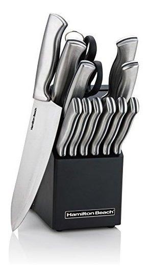 Basics Juego de cuchillos de precisi/ón de 29 piezas