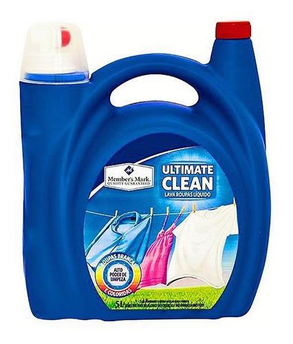 Sabão Líquido Ultimate Clean Lava Roupas Eco 1 Un 5 L