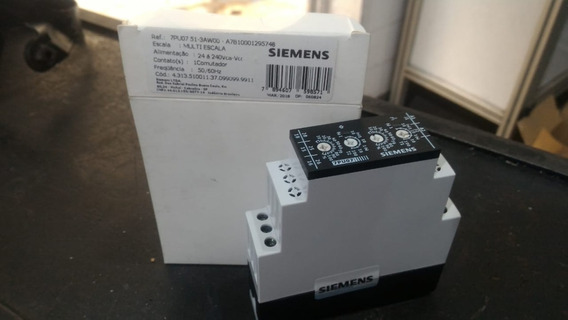 Relé Temporizador Siemens Multi Escala