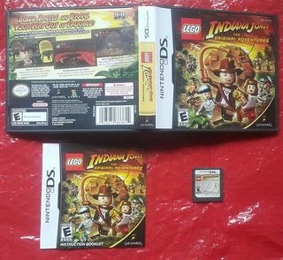 Lego Indiana Jones 1 Original Adv / Nintendo Ds Lite Dsi 3ds