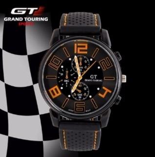 Relógio De Pulso Masculino Gt Grand Touring Preto