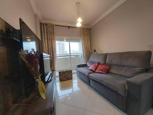 Apartamento Com 2 Dormitórios À Venda, 70 M²   - Tatuapé - São Paulo/sp - Ap1264