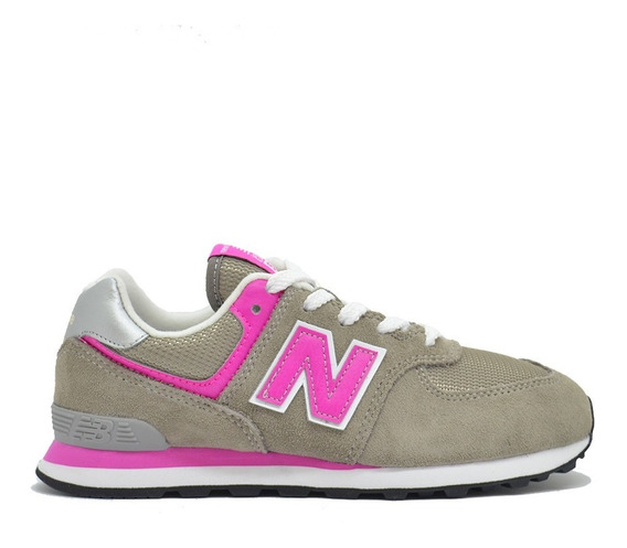 Zapatillas New Balance Pc574 Moda Infantil Urbano Asfl70