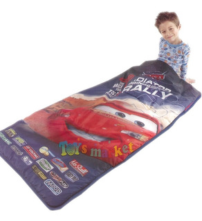 Bolsa De Dormir Infantil Dinsey Cars Camping Orignal Playhut