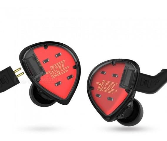 Fone Kz Es4 + Cb Bluetooth Pró+ Case De Resina