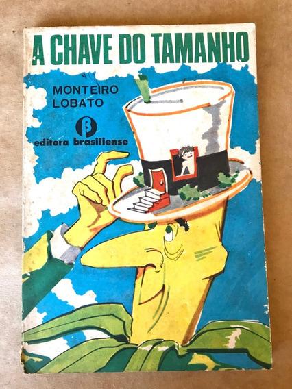 Livro - A Chave Do Tamanho - Monteiro Lobaro - 13ª Ed. -1975