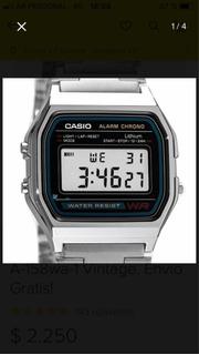 Reloj Casio A-158wa-1