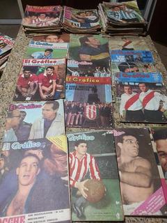 Revistas El Grafico , Colecciones Incompletas , Varios Años