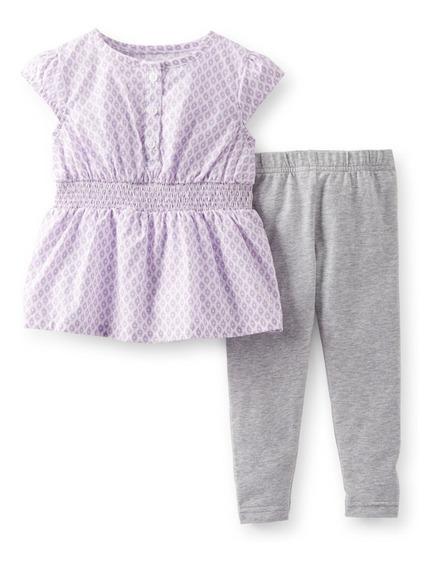 Conjuntos Carters Vestidos Bebe Niña