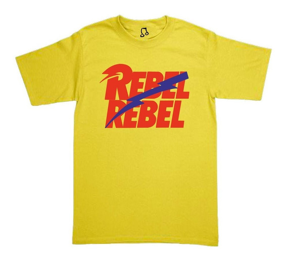 Playeras David Bowie - Rebel Rebel