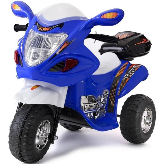 Moto A Bateria 3 Ruedas Niño Luces Sonidos 6v Ride Fun K1100