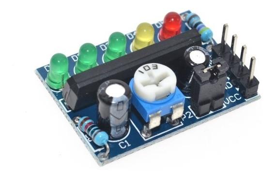 Ka2284 Indicador Nivel De Tensión Leds Bateria Audio Itytar