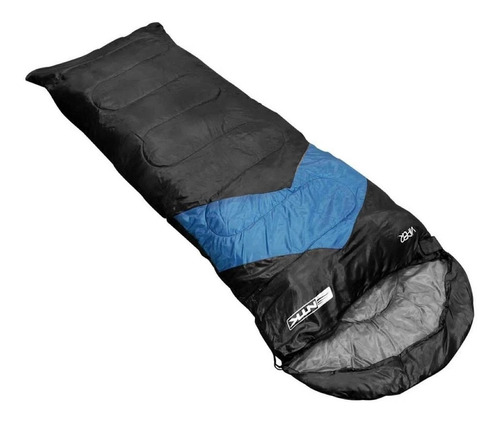 Imagem 1 de 2 de Saco De Dormir Viper De 5°c À 12°c Azul Nautika