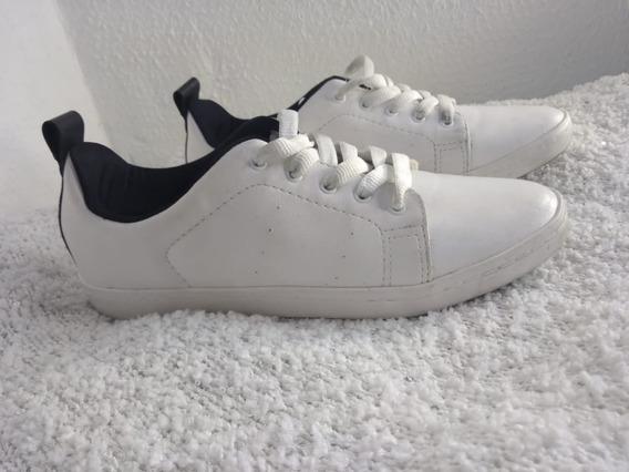 Tênis Branco Casual - Tamanho 37