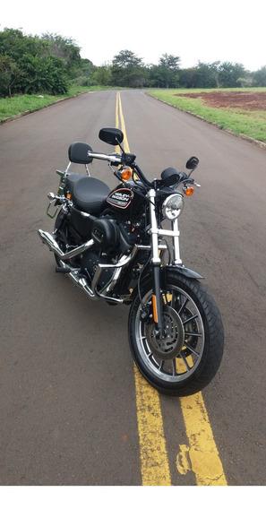 Harley Davidson Sportster Xl 883 R 2009 Preta