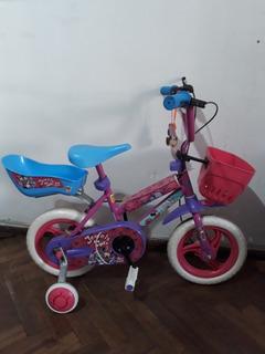 Bicicleta Para Niña De Paseo Unbike Minnie R12
