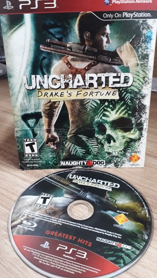 Uncharted - Ps3 Mídia Física Semi Novo