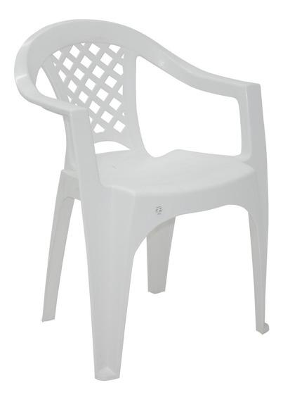 Cadeira Plástico Com Braço Iguape Tramontina