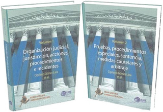 Libros De Derecho Serie Sistema Jurídico Procesal Mexicano