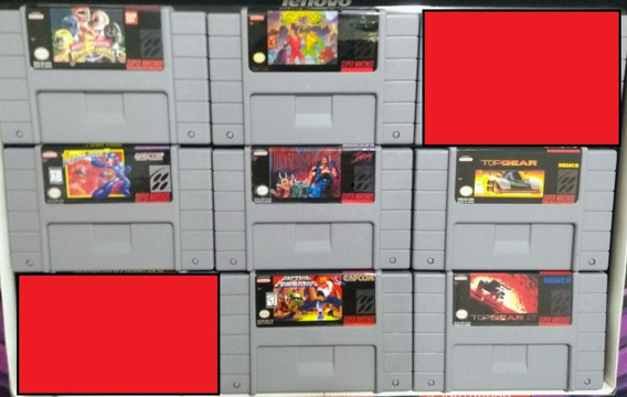 Jogos De Super Nintendo Paralelos Novos $65 Cada