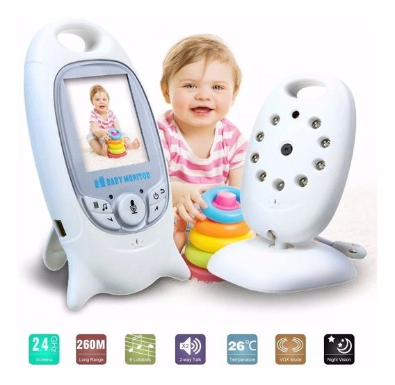 Baby Call Camara Monitor Seguridad Bebes Intercomunicador