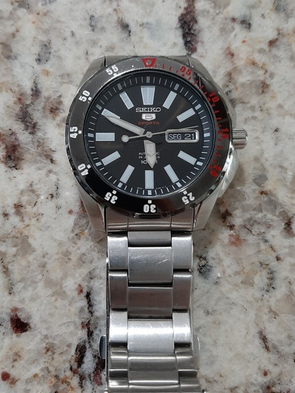 Relógio Seiko Sport 5 Automático Seminovo