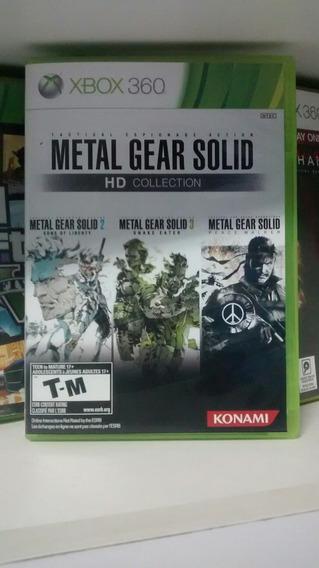 Jogo Do Xbox 360: Metal Gear Solid Hd Collection. Fretgrátis