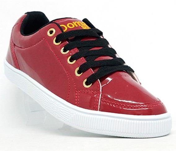 Tênis Feminino Doma Shoes Vermelho Frete Gratis