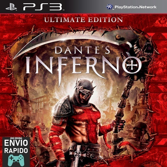 Dante´s Inferno Ultimate Edition Ps3 - Mídia Digital