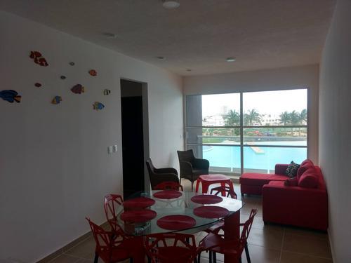Imagen 1 de 12 de Dreams Lagoons Cancun Departamento Nuevo Amueblado, 20896