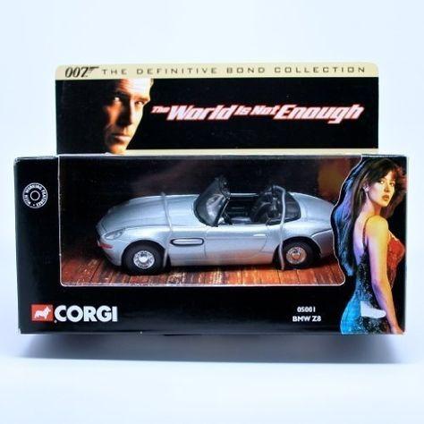 Carro Bmw Z8 - Filme 007 The World Is Not Enough Escala 1:36