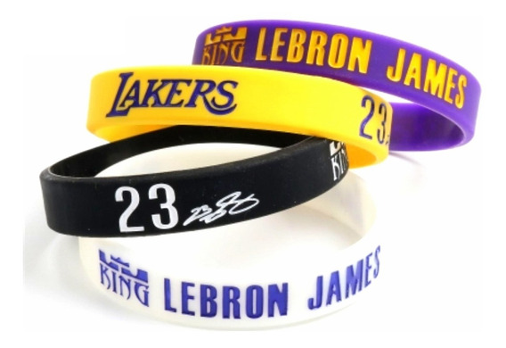 Pulseira Nba Lebron James - Los Angeles Lakers Basquete Kobe
