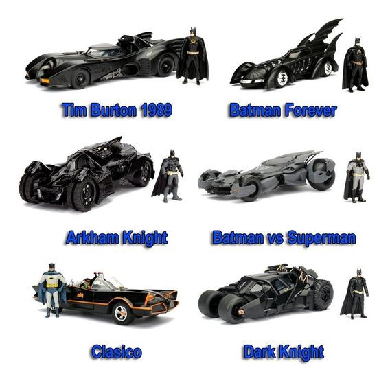 Auto Colección Metal Batimovil Batman 1/24 Die Cast Original