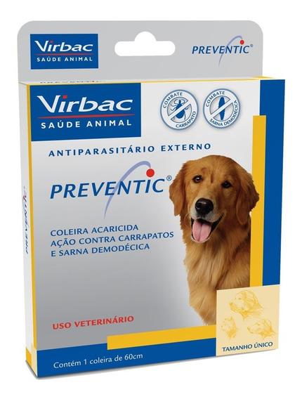 Preventic Coleira Anticarrapatos E Sarna 60 Cm