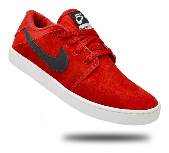 2 Pares Tênis Skatista Nike Sb Suketo Leather Unissex + F. G