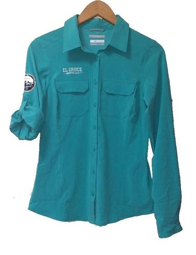 Camisa Columbia El Cruce Mujer Running